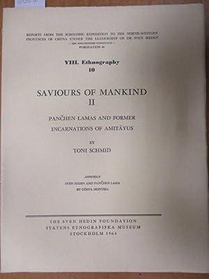 Saviours of Mankind II. Panchen Lamas And: Schmid, Toni: