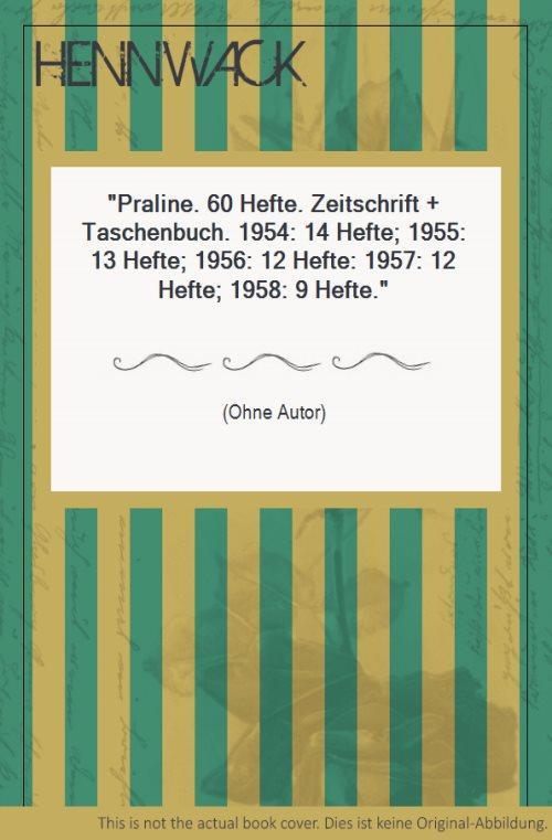 praline zeitschrift cover