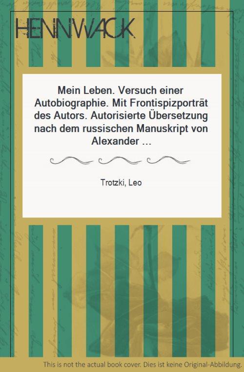 Leo Trotzki Mein Leben Zvab