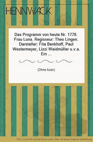 Das Programm von heute Nr. 1779. Frau