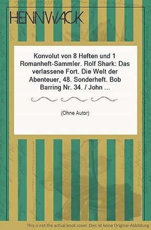 Western-Romane - Konvolut von 8 Heften und