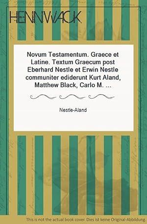 Novum Testamentum. Graece et Latine. Textum Graecum: Nestle-Aland: