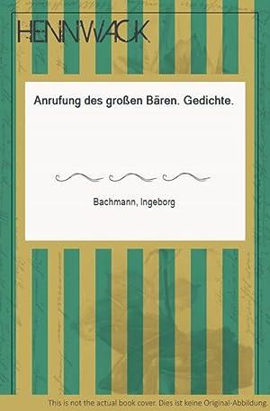 Ingeborg Bachmann Anrufung Des Grossen Baeren Zvab