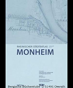Monheim. Herausgegeben vom LVR-Institut f. Landeskunde u.: Pracht-Jörns, Elfi (Bearb.):