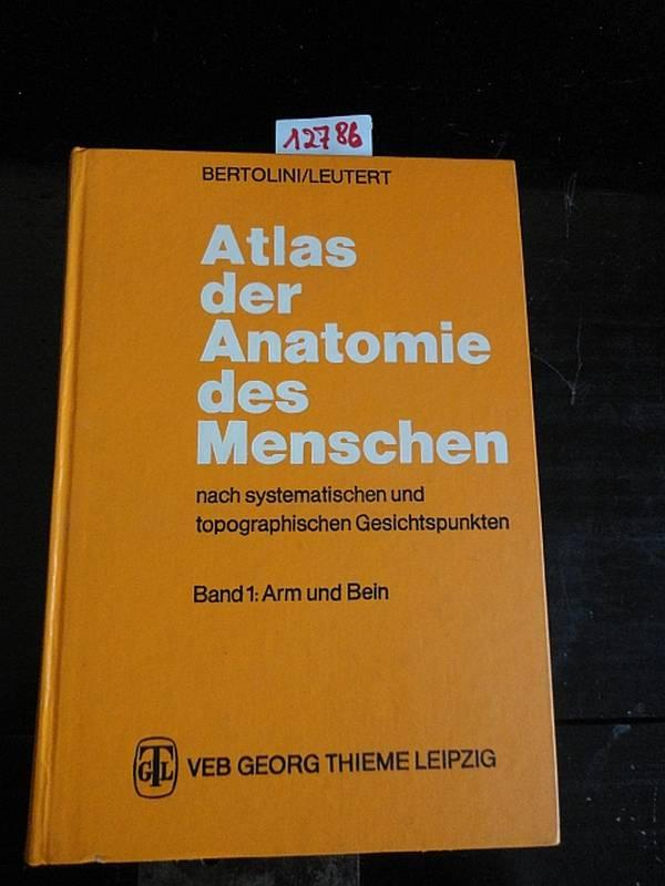 Atlas Der Systematischen Anatomie Des Menschen - AbeBooks