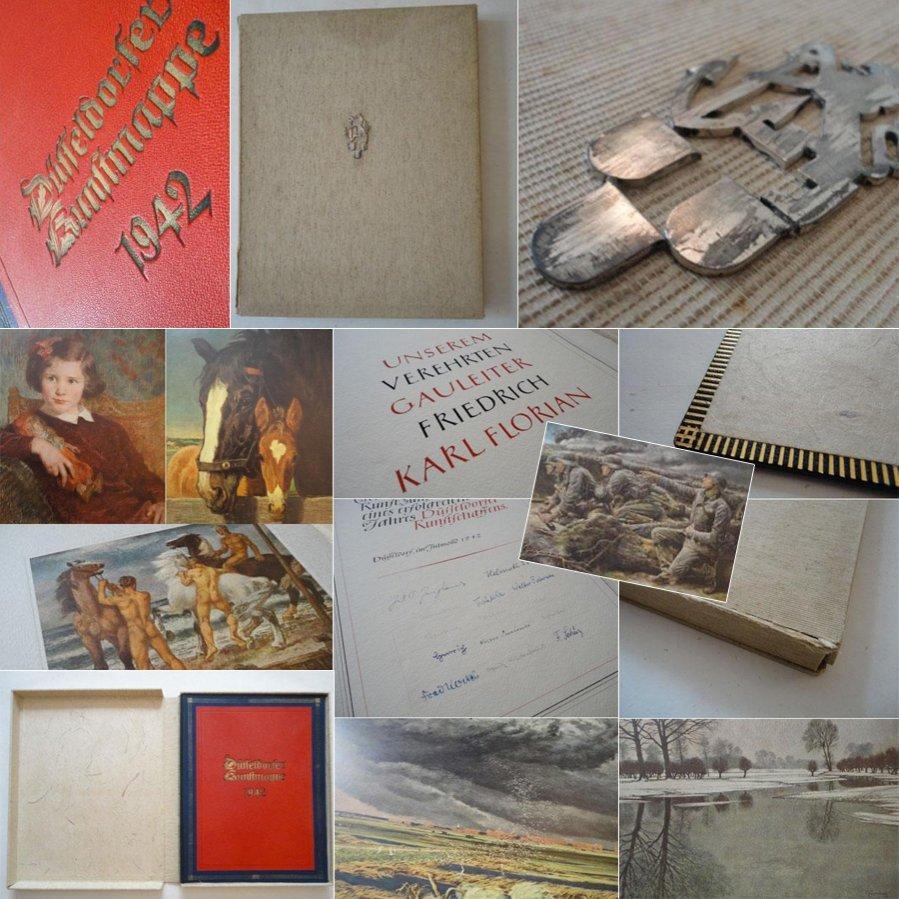 Düsseldorfer Kunstmappe Dritte Folge 1942 G A: Florian, Gauleiter Friedrich