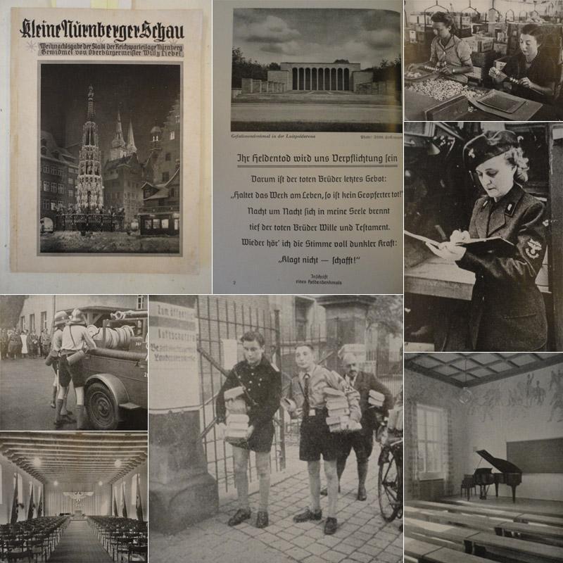 Nürnberger Schau. Monatsschrift der Stadt der Reichsparteitage Nürnberg, herausgegeben ...