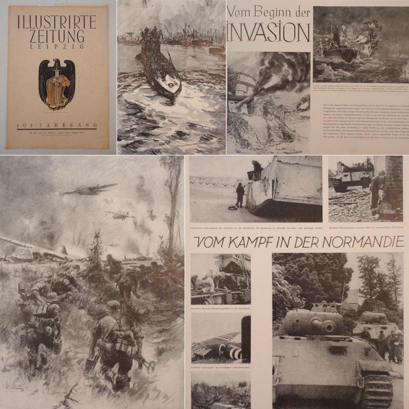 Illustrirte Zeitung Leipzig Nr.5039 Juli 1944: Weber, J. J. (Herausgeber):