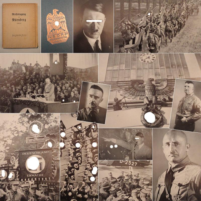 Reichstagung in Nürnberg 1933. Herausgegeben im Auftrage des Frankenführers Julius ...
