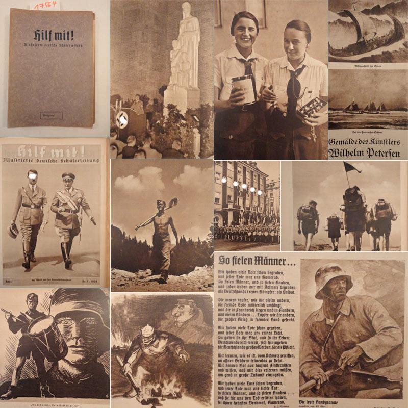 Hilf mit! Illustrierte deutsche Schülerzeitung, 5.Jahrgang: Oktober 1937 - September 1938: NS....