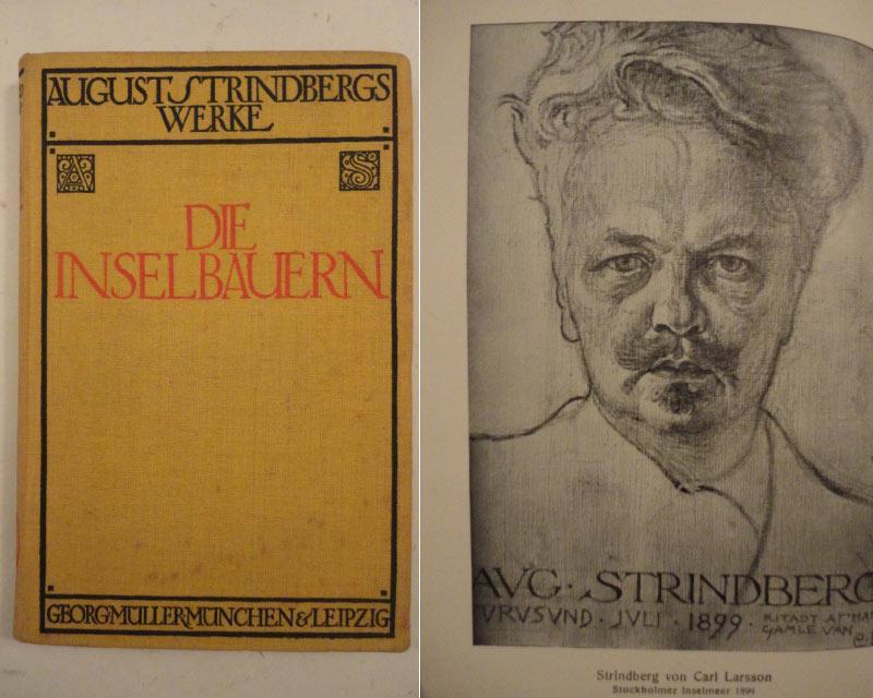 Die Inselbauern / Roman: Strindberg, August: