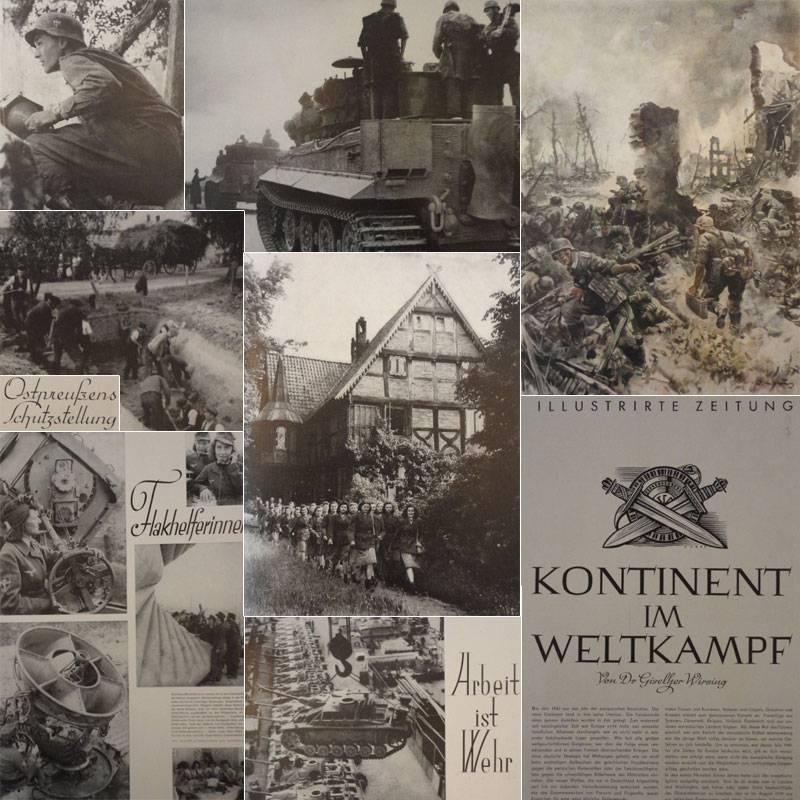 Illustrirte Zeitung Leipzig Nr.5041 vom 25. September1944 (letzte erschienene Ausgabe): Weber, J. J...