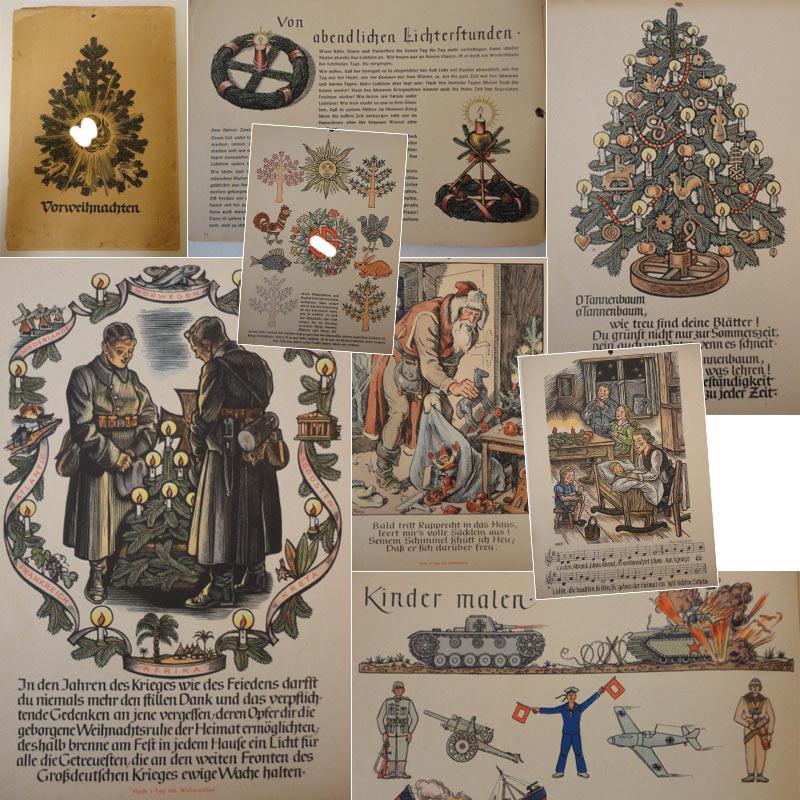 Vorweihnachten / Wandkalender: NSDAP (Herausgeber):