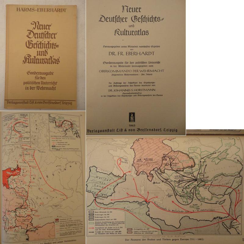 Neuer Deutscher Geschichts- und Kulturatlas. Herausgegeben unter Mitarbeit namhafter Erzieher von ...