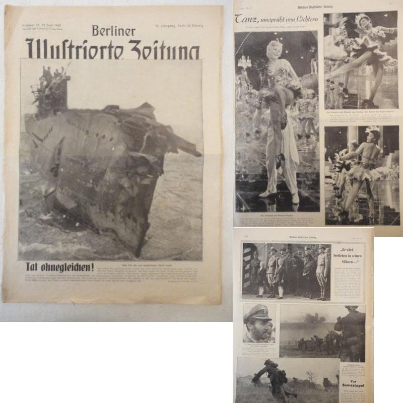 Berliner illustrierte zeitung 25 zvab for Innendekoration flims