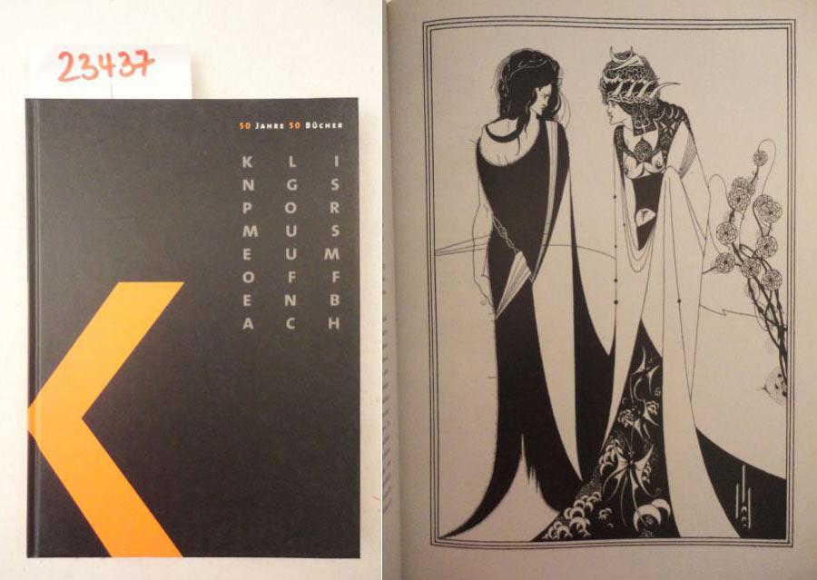 50 Jahre 50 Bücher: Katalog zur Ausstellung: Klingspor Museum Offenbach