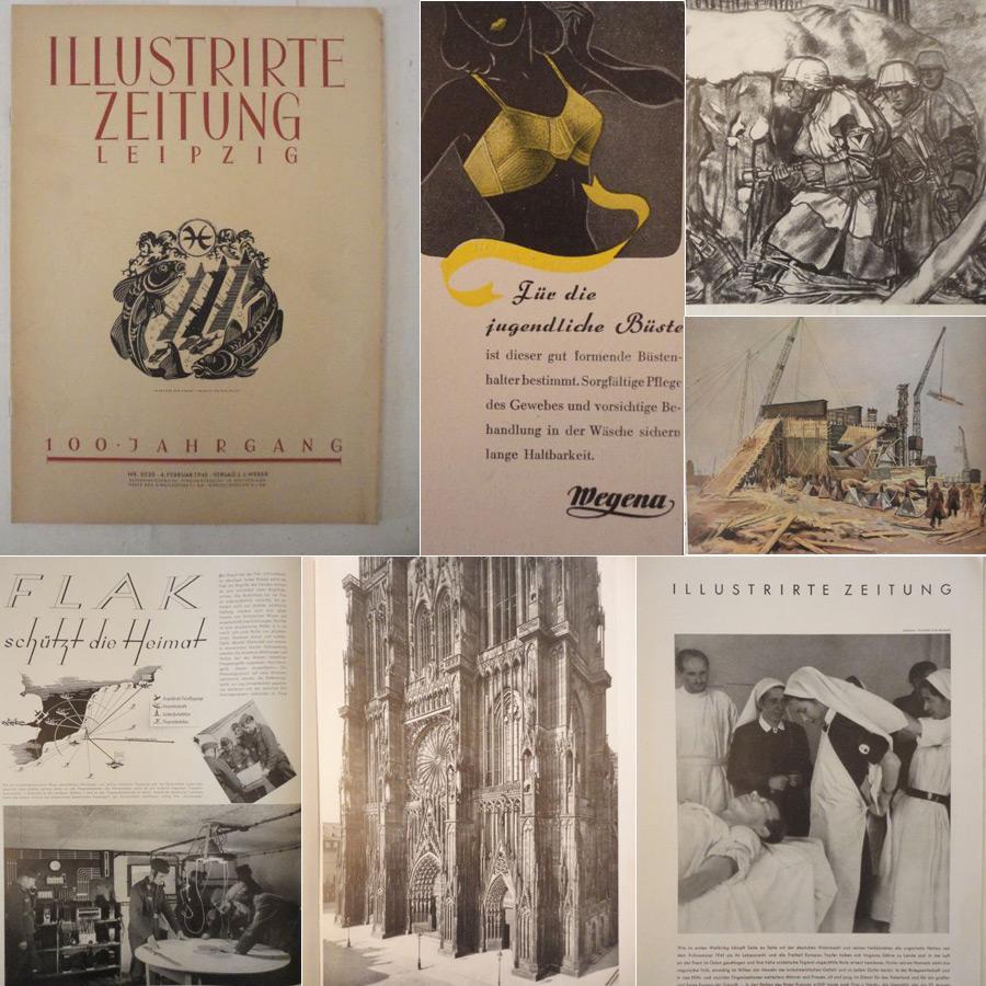 Zeitungen erster weltkrieg erstausgabe zvab illustrirte zeitung leipzig nr5020 vom 4februar 1943 weber j j fandeluxe Images