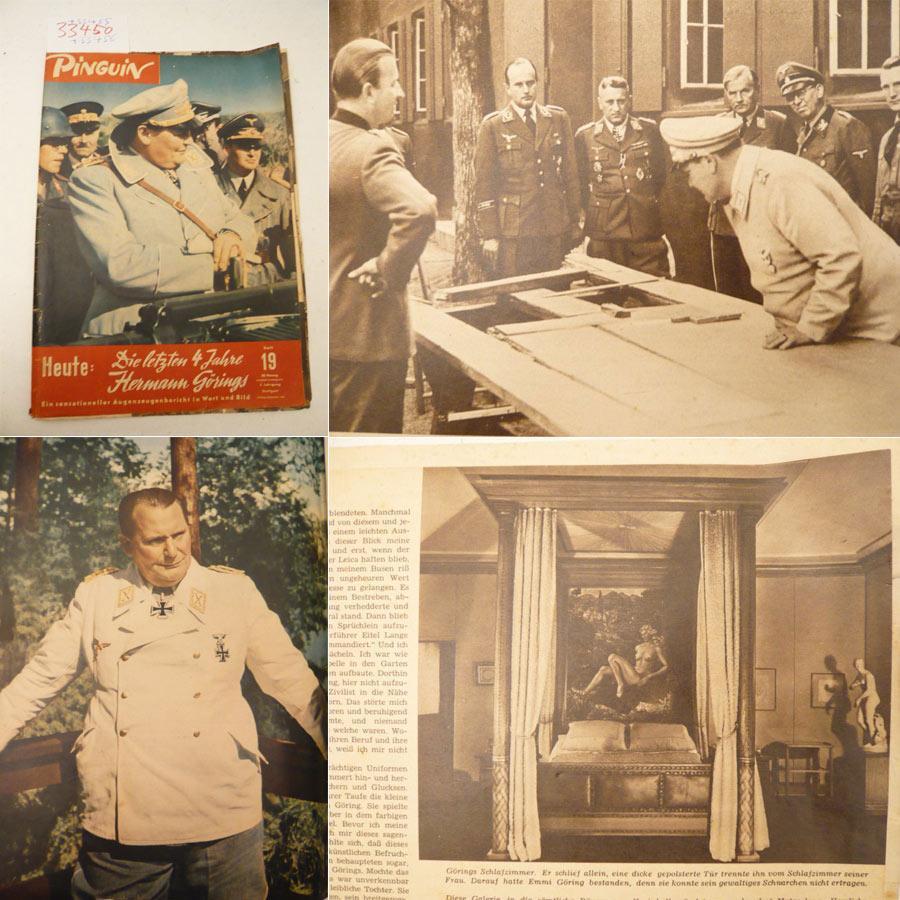 Pinguin Hefte Nr 19 22 5 Jahrgang 1950 Mit F A R B F O T O S E R I E Die Letzten 4 Jahre H E R M A N N