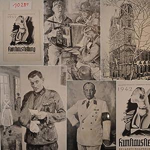 Kunstausstellung 1942 des Gaues Magdeburg-Anhalt. Malerei, Plastik, Graphik, Kunsthandwerk: ...