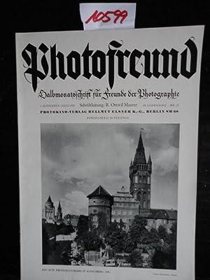 Photofreund. Halbmonatsschrift für Freunde der Photographie, offizielles Organ zahlreicher ...