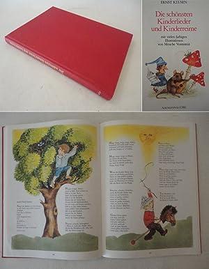 Die schönsten Kinderlieder und Kinderreime, mit vielen farbigen Illustrationen von Mouche ...