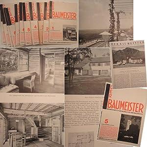 Der Baumeister. Monatshefte für Baukultur und Praxis. XXXIII.Jahrgang 1935: Harbers, Guido (...