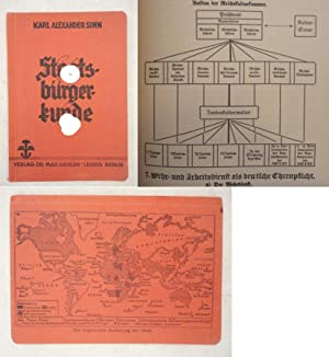 Kurzer Abriss einer Staatsbürgerkunde, bearbeitet von Alfred Tews. Mit 18 Übersichten und...