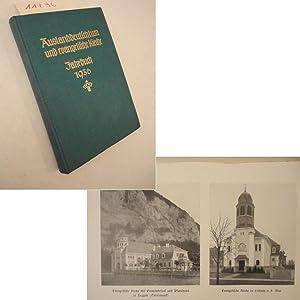 Auslanddeutschtum und evangelische Kirche. Jahrbuch 1936