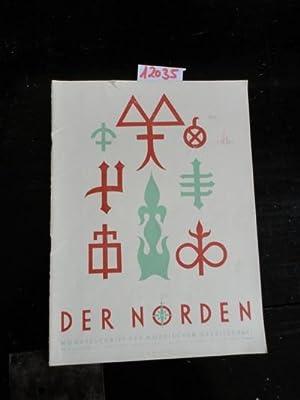 Der Norden. Monatsschrift der Nordischen Gesellschaft. Nr.4 April 1941, 18.Jahrgang: Nordische ...