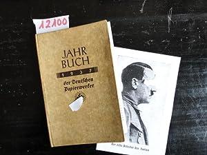 Jahrbuch der Deutschen Papierwerker 1937: Deutsche Arbeitsfront (Herausgeber):