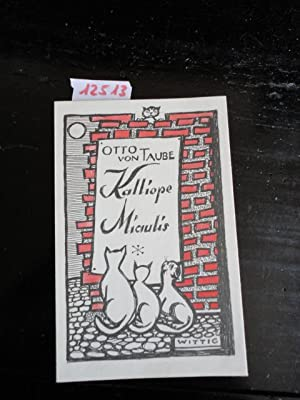 Kalliope Miaulis: Taube, Otto von: