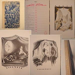 Galanter Kalender 1920. Mit 367 Aphorismen von Axel Brack und Zeichnungen von Wustrau