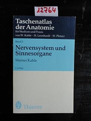 Nervensystem und Sinnesorgane - Band 3: Kahle, Werner Prof.