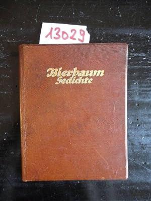 Gedichte * G A N Z L E D E R - Luxusausgabe: Bierbaum, Otto Julius: