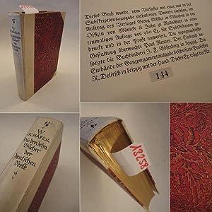 Die dreizehn Bücher der deutschen Seele - Subskriptionsausgabe Nr.144 * L U X U S A U S G A B ...
