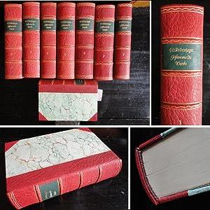 Gesammelte Werke in acht Bänden * H A L B L E D E R - V o r z u g s a u s g a b e Nr.158 &#x2F...