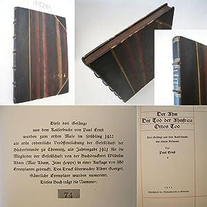 Der Ahn / Der Tod der Ahnfrau / Ottos Tod. Drei Gesänge aus dem Kaiserbuche, mit ...