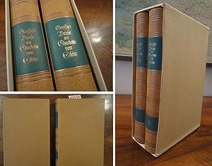 Goethes Briefe an Charlotte von Stein. Umgearbeitete Neuausgabe, erster und zweiter Band * G A N Z ...