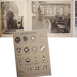 Das Buch der N.S.D.A.P. Werden, Kampf und Ziel der N.S.D.A.P. Mit 176 Bildtafeln und dazugehö...