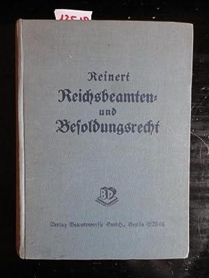 Reichsbeamten- und Besoldungsrecht. 12. Auflage, Bearbeiter: Karl Schäfers, Rudolf Vö...