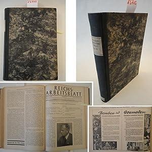 Reichsarbeitsblatt 22.Jahrgang 1942 Teil V Soziales Deutschland: Reichsarbeitsministerium und ...