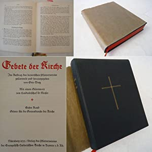Gebete der Kirche. Im Auftrag des bayerischen Pfarrervereins gesammelt und herausgegeben, mit einem...