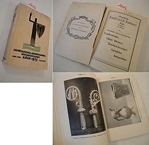 Jahrtausend-Ausstellung der Rheinlande Köln 1925: Ewald, Dr. W. ( Museumsdirektor) & Kuske und...