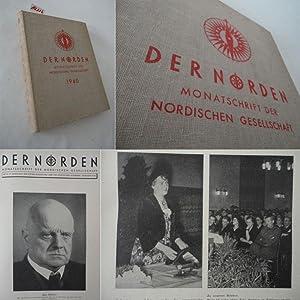 Der Norden. Monatsschrift der Nordischen Gesellschaft, 17.Jahrgang 1940: Nordische Gesellschaft (...