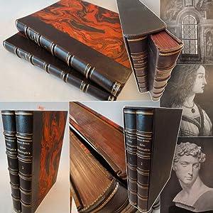 Leben Michelangelos / großformatige Ausgabe / H A L B F R A N Z B A N D / H A ...