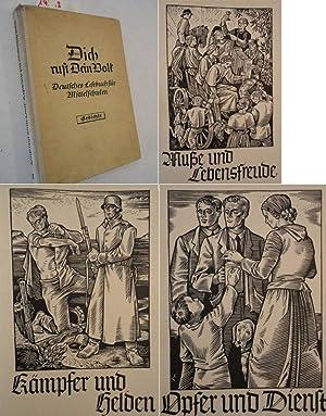 Dich ruft dein Volk. Deutsches Lesebuch für Haupt- und Mittelschulen, Gedichte für die ...