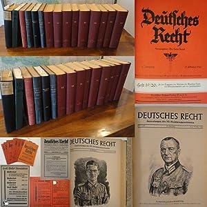 Deutsches Recht. Monatsschrift des Bundes N.-S. Deutscher Juristen 1. - 16.Jahrgang 1931 -1945 * ...