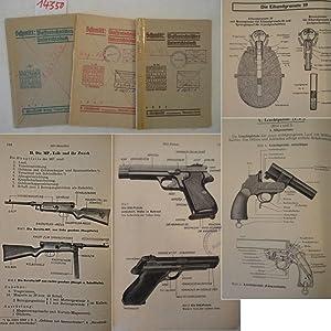 Waffentechnisches Unterrichtsbuch I.-III. Teil: Schmitt Glaeser, Walter: