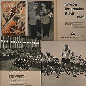 Kalender der Deutschen Arbeit 1940: Amt für Fachzeitschriften