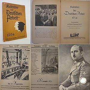 Kalender der Deutschen Arbeit 1934: Walter Schuhmann (Herausgeber):